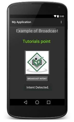 Broadcast Receiver trong Android