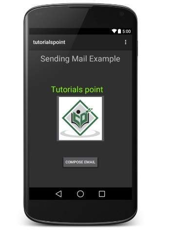 Send Email trong Android