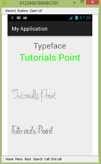 Custom Font trong Android