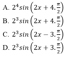 Bài tập trắc nghiệm Đại số và Giải tích 11 | Câu hỏi trắc nghiệm Đại số và Giải tích 11