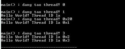 Multithread trong C++