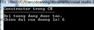 Destructor trong C#