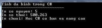 Tính đa hình trong C#