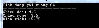Tính đóng gói trong C#