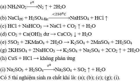 Đề thi Hóa học 11 Học kì 1 có đáp án (Trắc nghiệm - Đề 1) | Đề thi Hóa 11 có đáp án