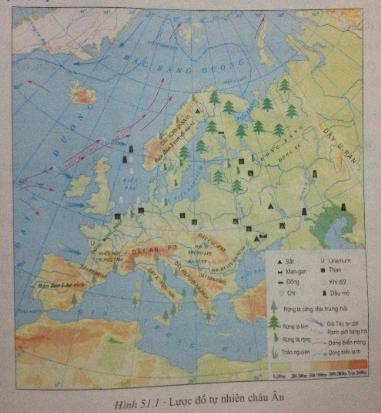 Câu 1 SGK Địa lý 7 trang 155