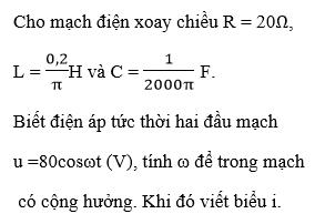 Giải bài tập Vật Lý 12   Giải Lý 12