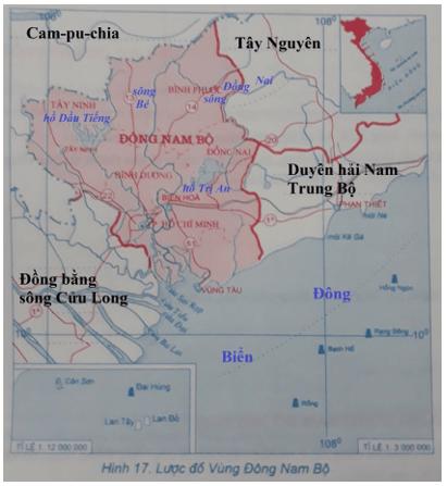 Giải tập bản đồ và bản đồ thực hành Địa Lí 9