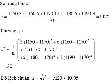 Giải bài 1 trang 128 SGK Đại Số 10 | Giải toán lớp 10