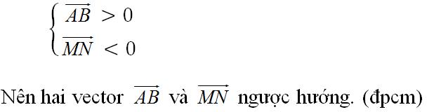 Giải bài 1 trang 26 sgk Hình học 10 | Để học tốt Toán 10