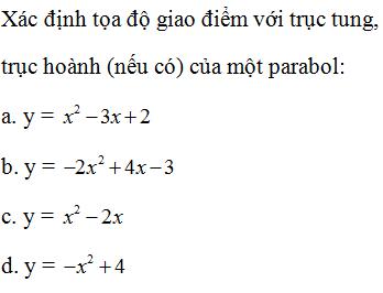 Giải bài 1 trang 49 sgk Đại số 10 | Để học tốt Toán 10