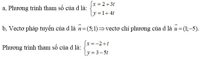 Giải bài 1 trang 80 SGK hình học 10 | Giải toán lớp 10