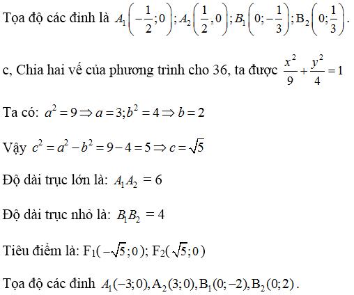 Giải bài 1 trang 88 SGK hình học 10 | Giải toán lớp 10