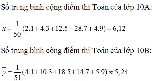 Giải bài 2 trang 122 SGK Đại Số 10   Giải toán lớp 10