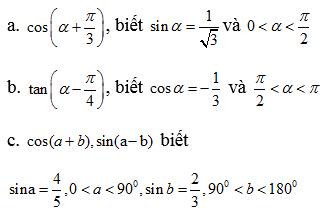 Giải bài 2 trang 153 SGK Đại Số 10 | Giải toán lớp 10