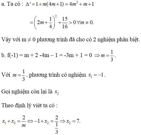 Giải bài 2 trang 160 SGK Đại Số 10 | Giải toán lớp 10