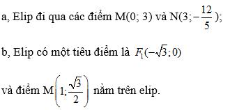 Giải bài 3 trang 88 SGK hình học 10 | Giải toán lớp 10