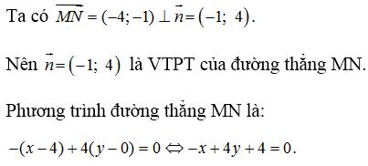 Giải bài 4 trang 80 SGK hình học 10 | Giải toán lớp 10