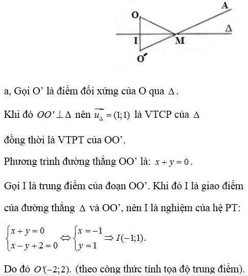 Giải bài 4 trang 93 SGK hình học 10   Giải toán lớp 10