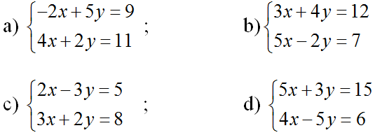 Giải bài 5 trang 70 sgk Đại số 10 | Để học tốt Toán 10