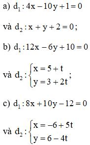 Giải bài 5 trang 80 SGK hình học 10 | Giải toán lớp 10
