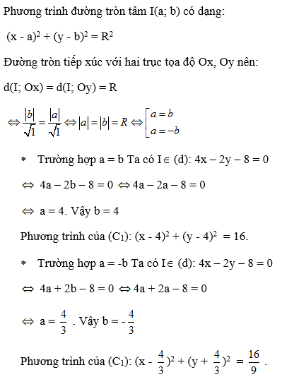 Giải bài 5 trang 84 SGK hình học 10 | Giải toán lớp 10