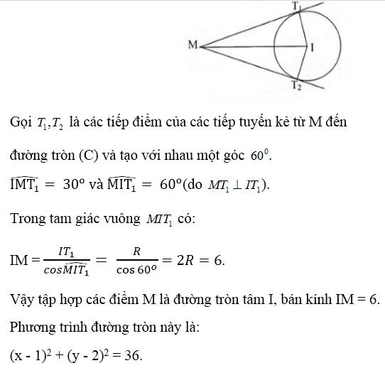 Giải bài 7 trang 93 sgk Hình học 10   Để học tốt Toán 10