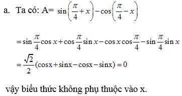 Giải bài 8 trang 156 SGK Đại Số 10 | Giải toán lớp 10