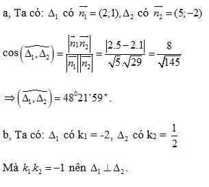 Giải bài 8 trang 93 SGK hình học 10   Giải toán lớp 10