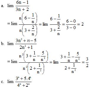Giải bài 3 trang 121 sgk Đại Số 11 | Để học tốt Toán 11