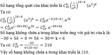 Giải bài 5 trang 179 sgk Đại số 11 | Để học tốt Toán 11
