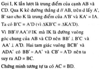 Giải bài 6 trang 119 sgk Hình học 11   Để học tốt Toán 11