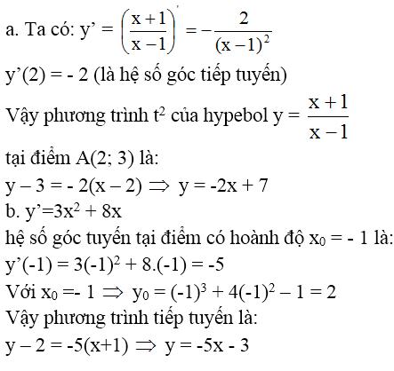 Giải bài 7 trang 176 sgk Đại Số 11 | Để học tốt Toán 11