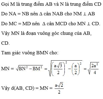 Giải bài 8 trang 120 sgk Hình học 11 | Để học tốt Toán 11