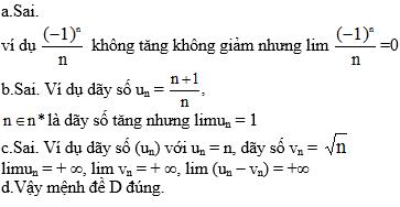 Giải bài 9 trang 143 sgk Đại Số 11 | Để học tốt Toán 11