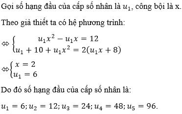 Giải bài 9 trang 180 sgk Đại số 11   Để học tốt Toán 11