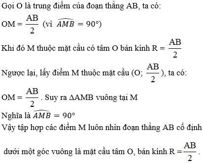 Giải bài 1 trang 49 sgk Hình học 12 | Để học tốt Toán 12
