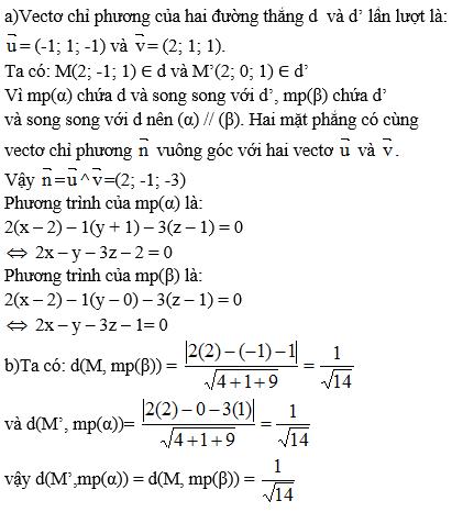 Giải bài 15 trang 101 sgk Hình học 12 | Để học tốt Toán 12