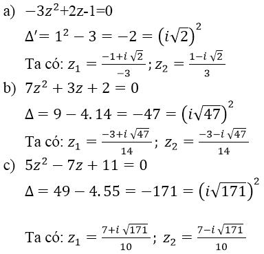 Giải bài 2 trang 140 sgk Giải tích 12 | Để học tốt Toán 12
