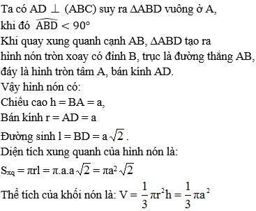 Giải bài 2 trang 50 sgk Hình học 12 | Để học tốt Toán 12