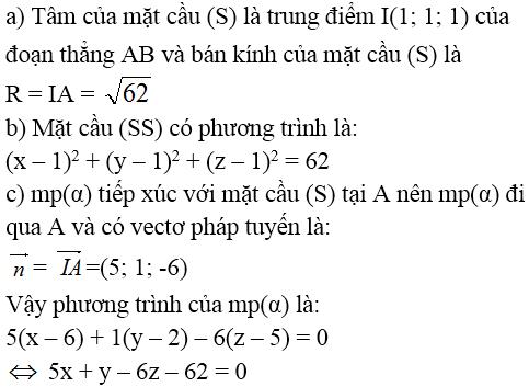 Giải bài 2 trang 91 sgk Hình học 12 | Để học tốt Toán 12