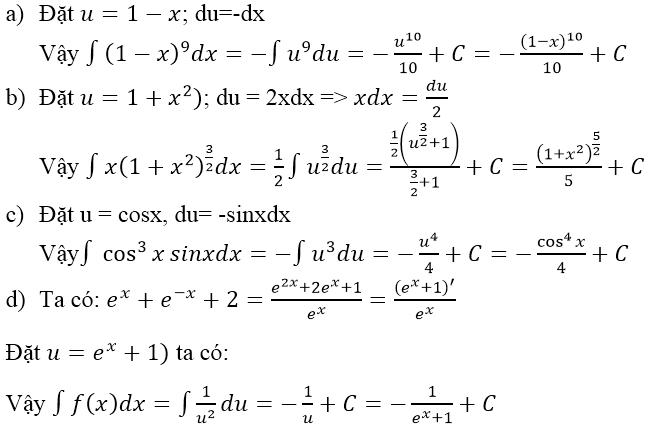 Giải bài 3 trang 101 sgk Giải tích 12 | Để học tốt Toán 12
