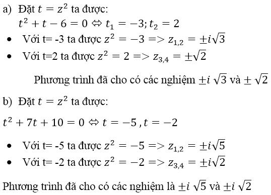 Giải bài 3 trang 140 sgk Giải tích 12 | Để học tốt Toán 12