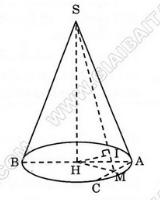 Giải bài 3 trang 39 sgk Hình học 12 | Để học tốt Toán 12