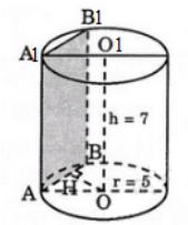 Giải bài 5 trang 39 sgk Hình học 12 | Để học tốt Toán 12