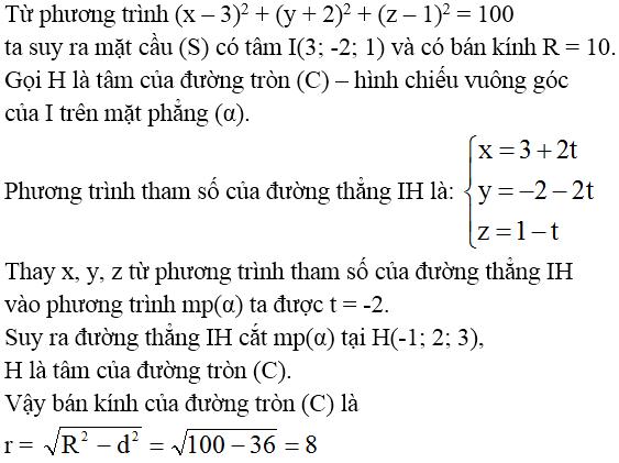 Giải bài 5 trang 92 sgk Hình học 12 | Để học tốt Toán 12