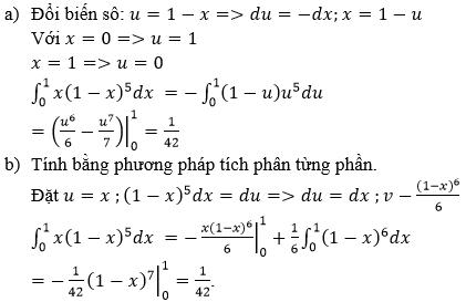 Giải bài 6 trang 113 sgk Giải tích 12   Để học tốt Toán 12