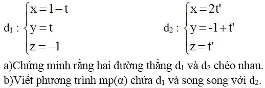 Giải bài 7 trang 100 sgk Hình học 12 | Để học tốt Toán 12