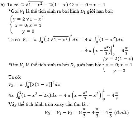 Giải bài 7 trang 127 sgk Giải tích 12 | Để học tốt Toán 12