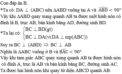 Giải bài 7 trang 52 sgk Hình học 12 | Để học tốt Toán 12